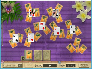 Free Games - Aloha Solitaire