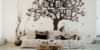 DIY: Bring your walls to life with a family tree decoration