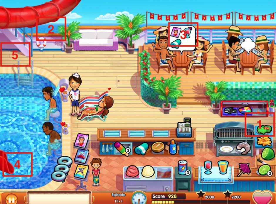 Emily's Honeymoon Cruise - Mouse locations episode 11