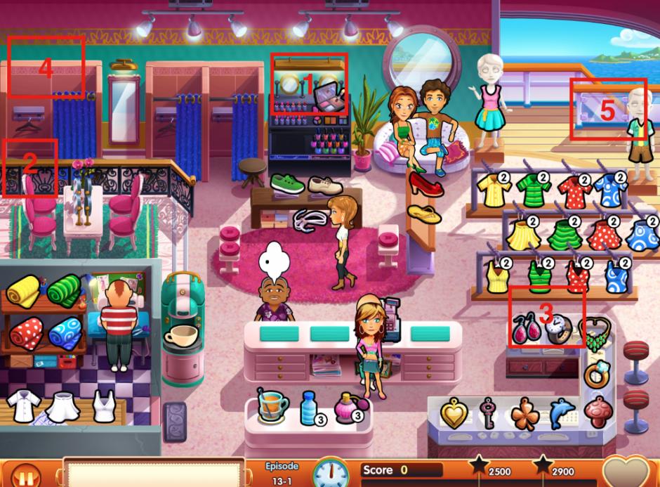 Emily's Honeymoon Cruise - Mouse locations episode 13