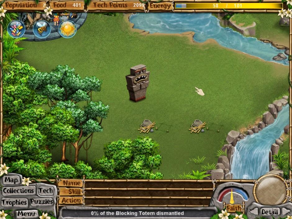 Virtual Villagers 5 The Blocking Totem
