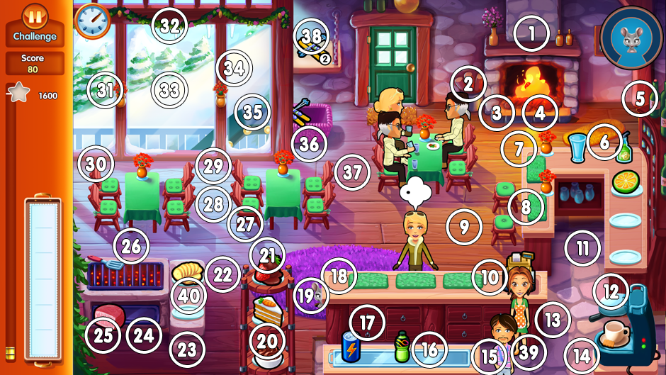 Challenge 25 - 40 mice locations in Delicious Emily's Home Sweet Home