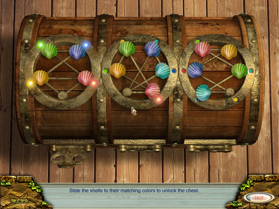 Love Story - the Boat Shells minigame