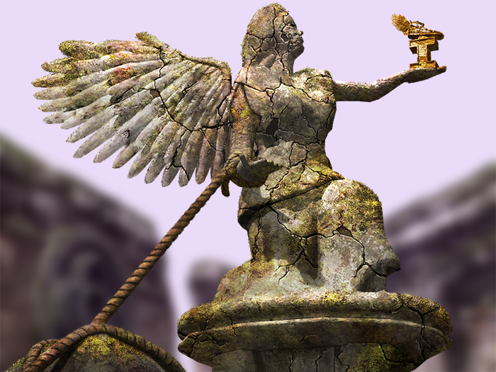A guardian angel of City of Antiquity