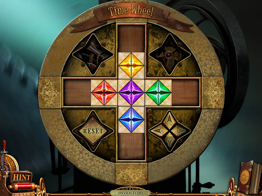 Time Wheel puzzle - finished
