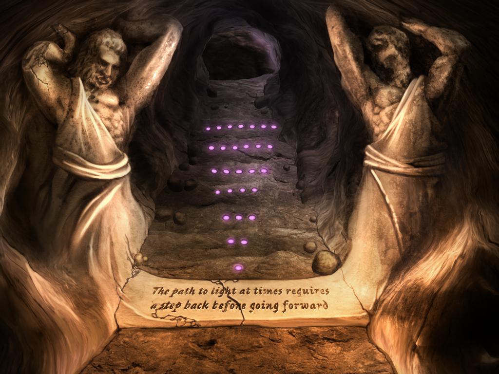 Cave Mini game