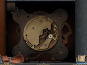 Grandfathers Clock opened