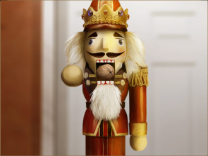 Nutcracker Doll in Elly Cooper and the City of Antiquity