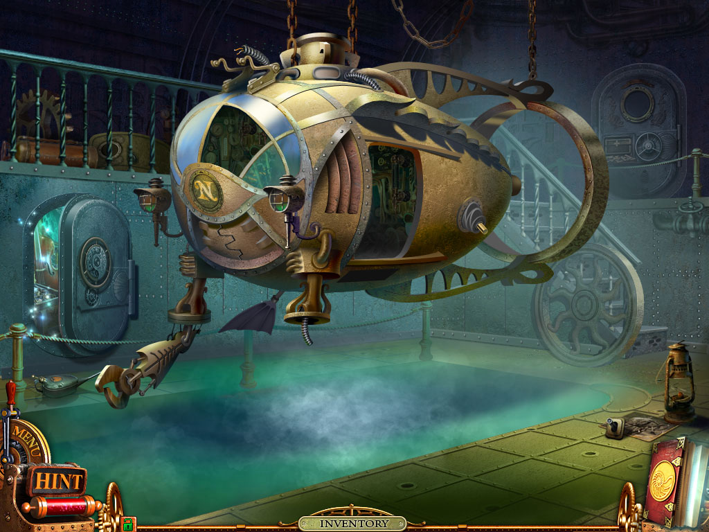 Submarine in the adventure room