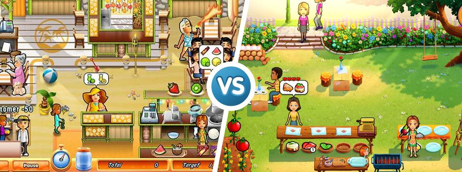 Delicious Emily's games 2006 vs 2015 graphic comparison
