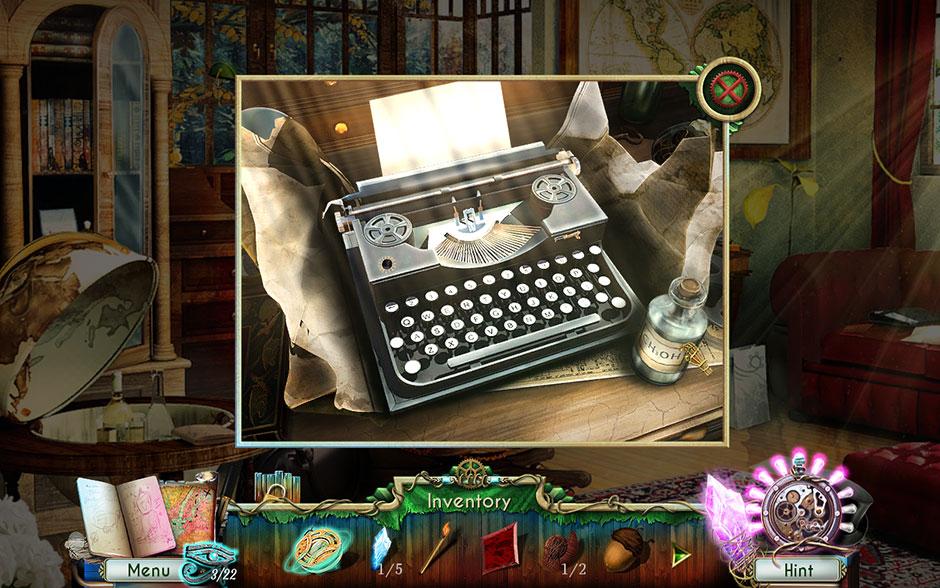 Dreamatorium Dr Magnus 2 Denatured Alcohol on Typewriter Desk