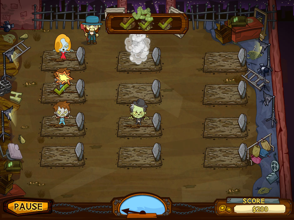 Grave Mania Undead Fever Dead ManWhacking Minigame
