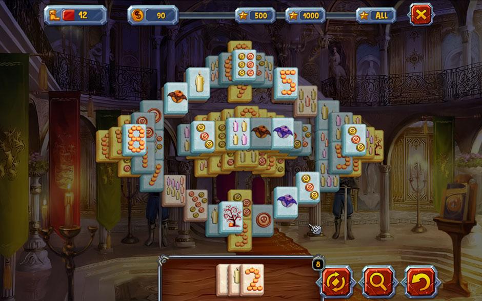 Halloween Stories Mahjong Chains