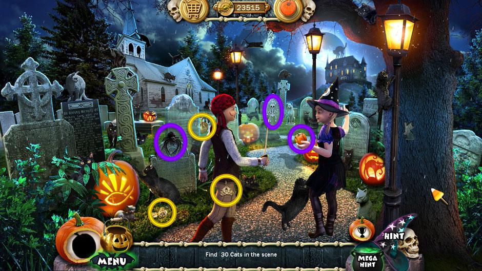 Halloween Trick or Treat 2 Graveyard