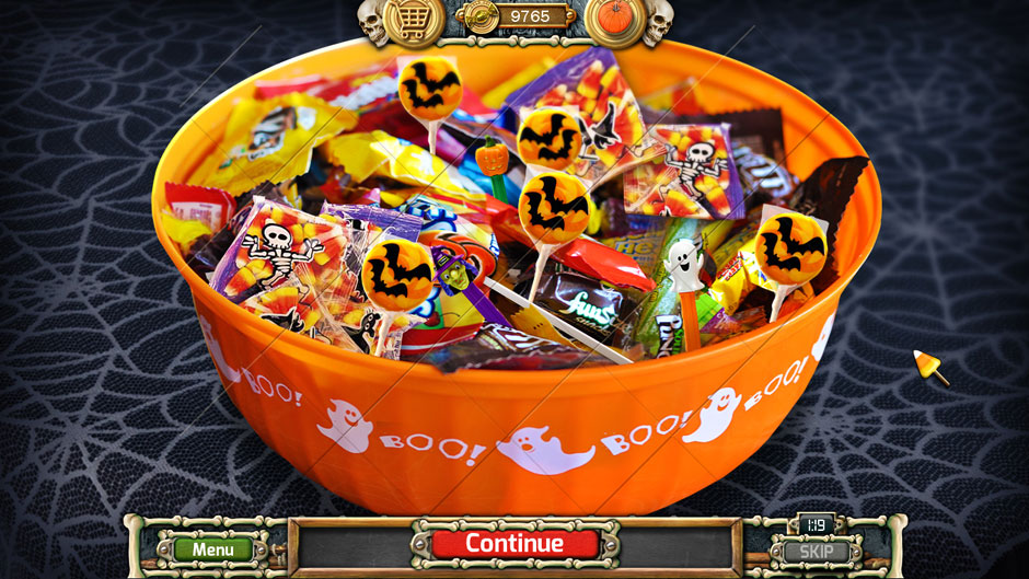 Halloween Trick or Treat 2 Halloween Candy Bowl Puzzle Solution