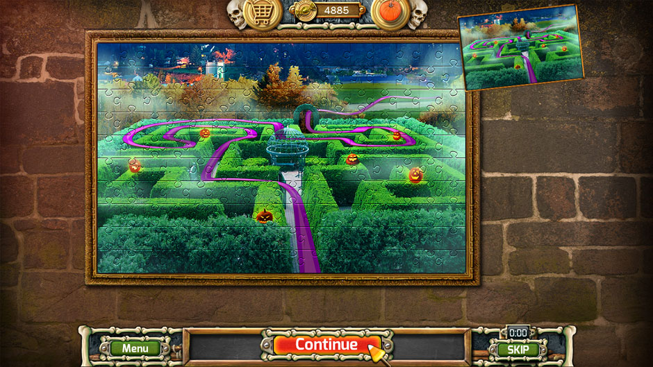 Halloween Trick or Treat 2 Hotel Maze Puzzle Complete