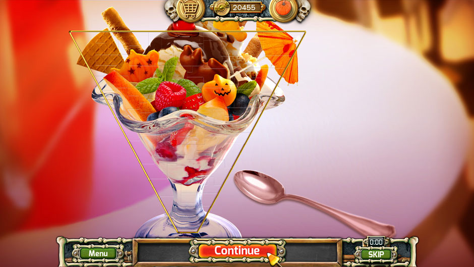 Halloween Trick or Treat 2 Ice Cream Sundae Puzzle Solution
