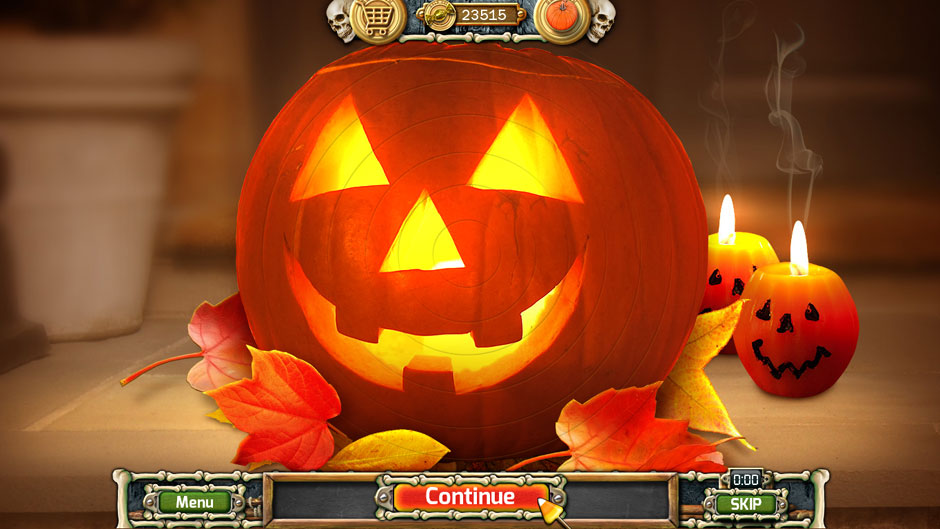 Halloween Trick or Treat 2 Jack-o'-lantern Ring Puzzle Solution