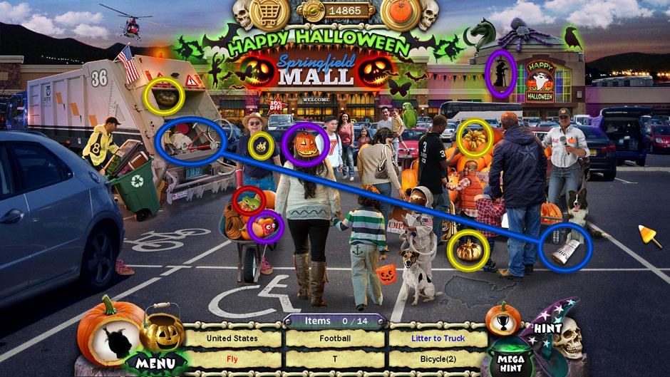 Halloween Trick or Treat 2 Mall Parking Lot