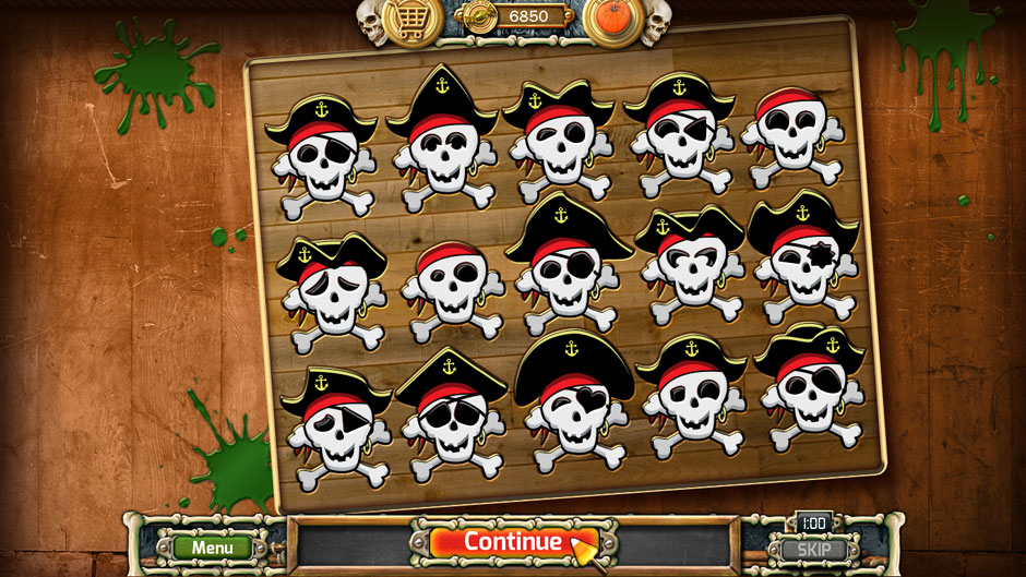 Halloween Trick or Treat 2 Pirate Puzzle Solution