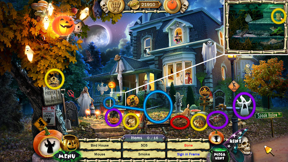Halloween Trick or Treat 2 Spook Mansion