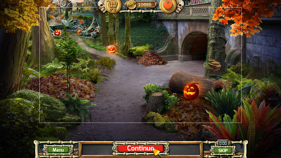 Halloween Trick or Treat 2 Town Museum View Puzzle Solution