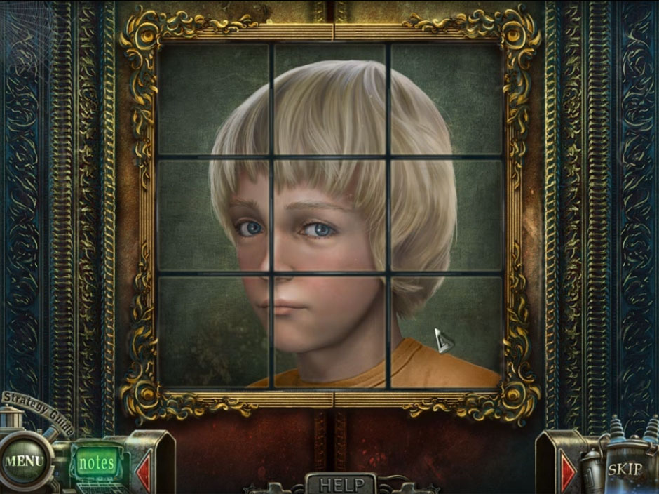 Haunted Halls Fears from Childhood Child Tiles Puzzle Solution