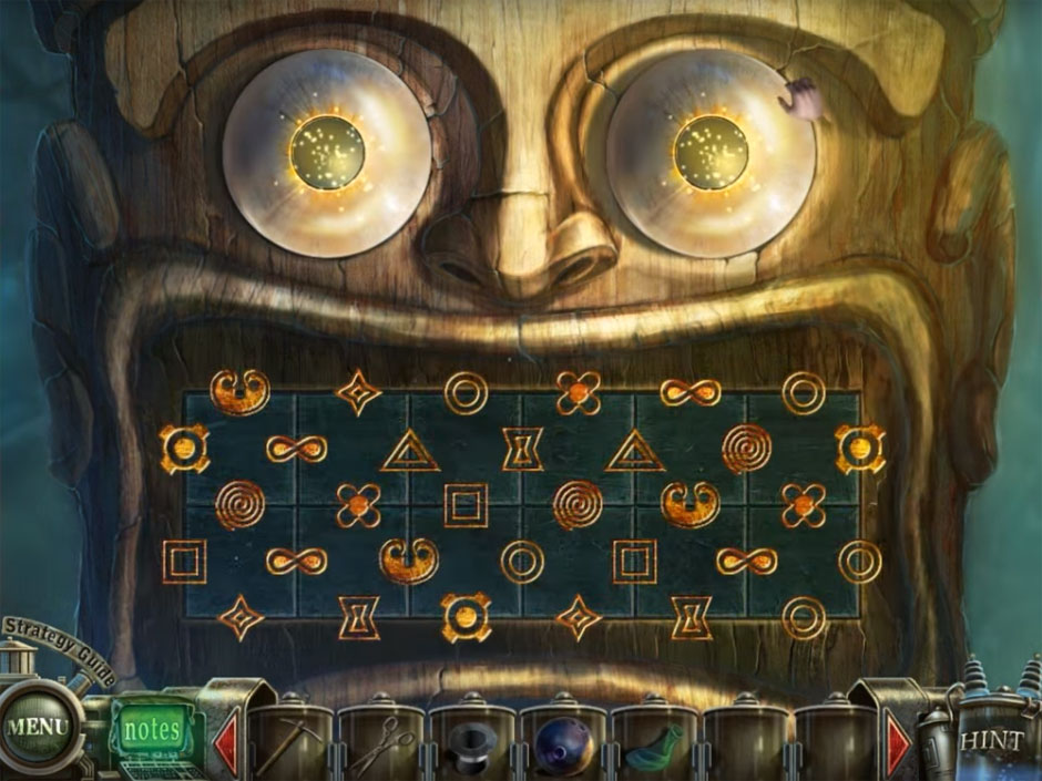 Haunted Halls Fears from Childhood Teeth Tile Puzzle