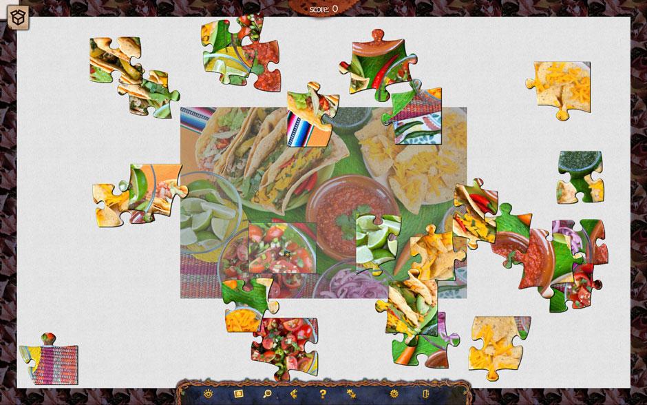Holiday Jigsaw Halloween 3 Magnifying Glass Zoom