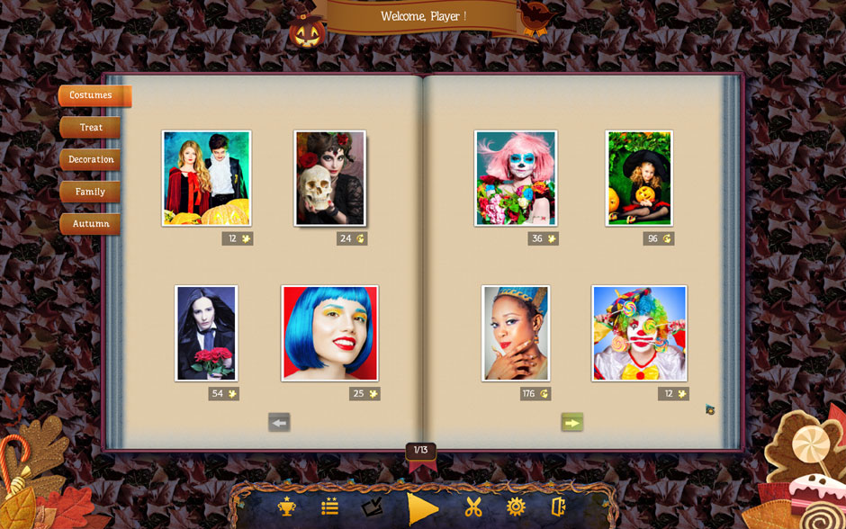 Holiday Jigsaw Halloween 3 Puzzle Select