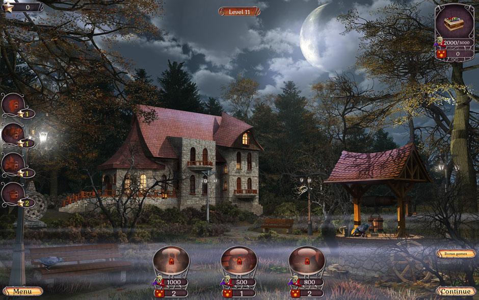 Jewel Match Twilight Scenes Haunted Castle