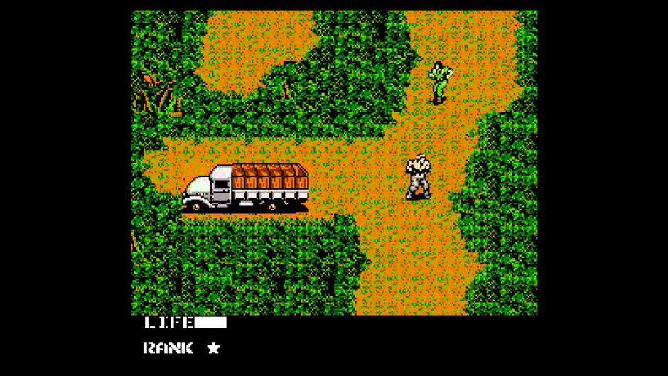 Metal Gear 1987 on NES