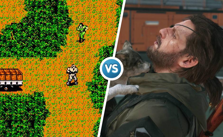 Metal Gear Solid 1998 vs 2015 graphic comparison