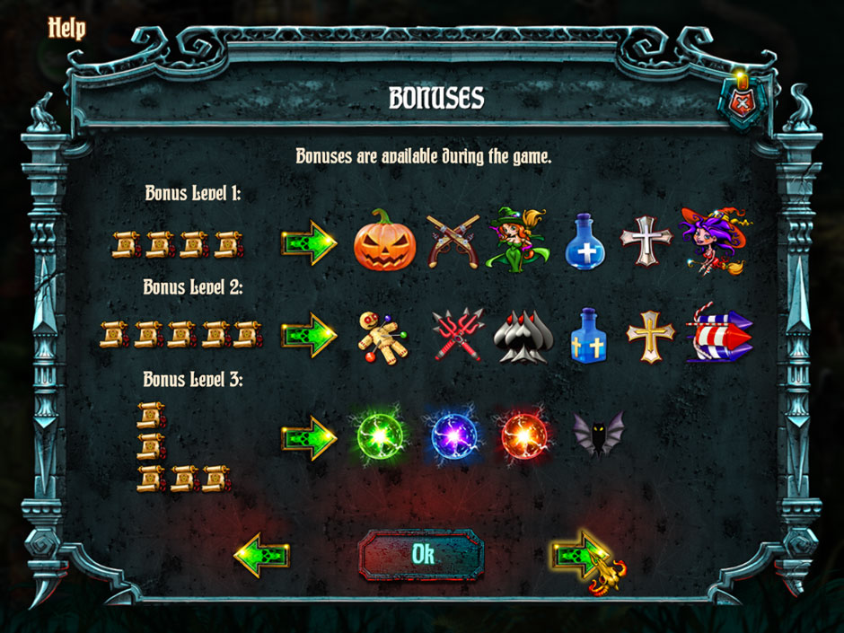 Save Halloween City of Witches Bonus Levels 1, 2, and 3