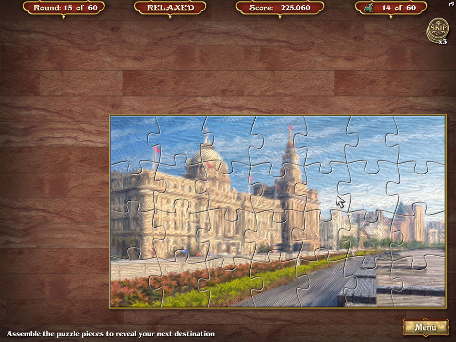 Big City Adventure Shanghai Round 15 Jigsaw Puzzle Solution
