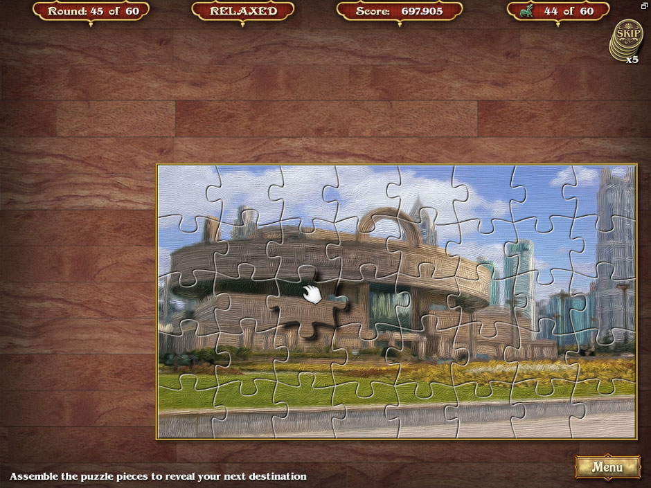 Big City Adventure Shanghai Round 45 Jigsaw Puzzle Solution