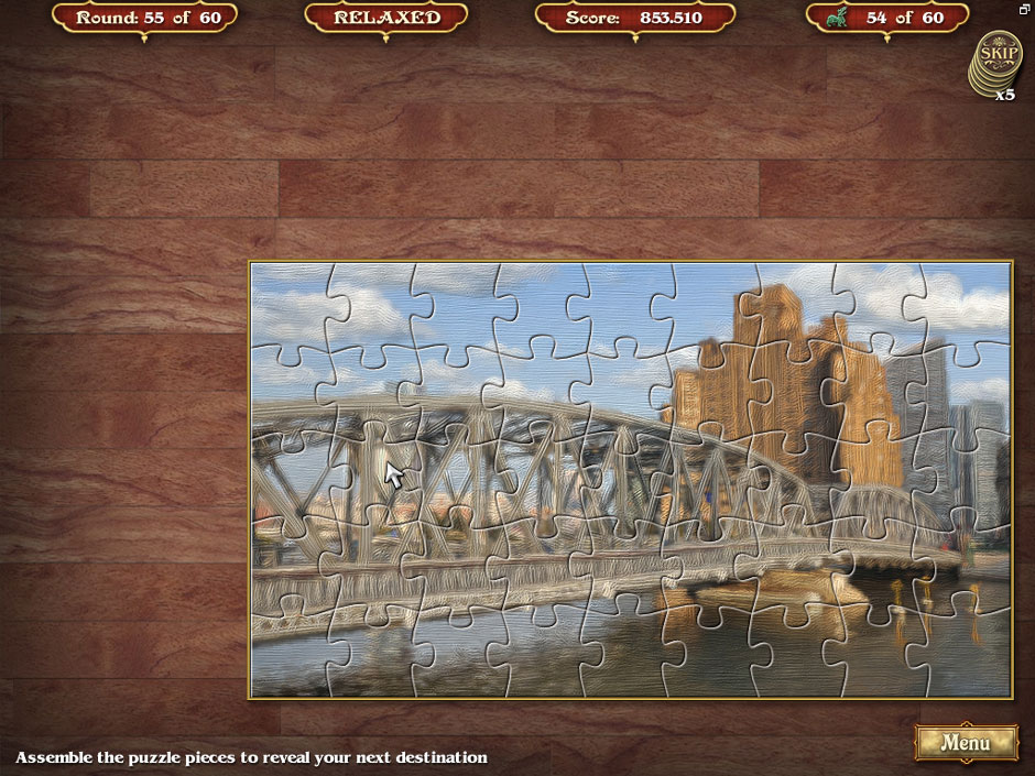 Big City Adventure Shanghai Round 55 Jigsaw Puzzle Solution