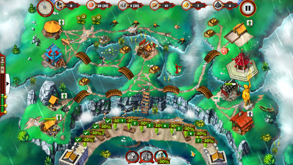 Building the Great Wall of China 2 Wall 50 Percent Discount Tactic