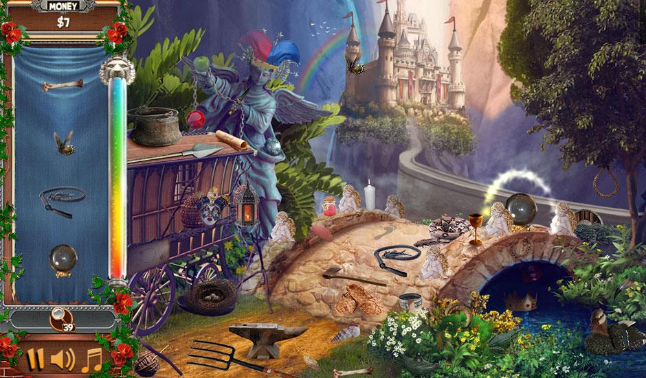 Castle Wonders - A Castle Tale Standard Hidden Object Scene