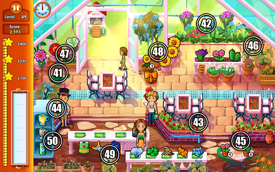 Delicious Emily's Hopes & Fears Patrick's Flower Shop Mice Locations