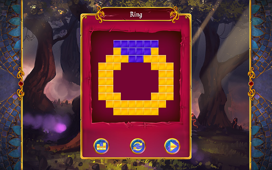 Mystery Mosaics Forest of Relics Puzzle 2
