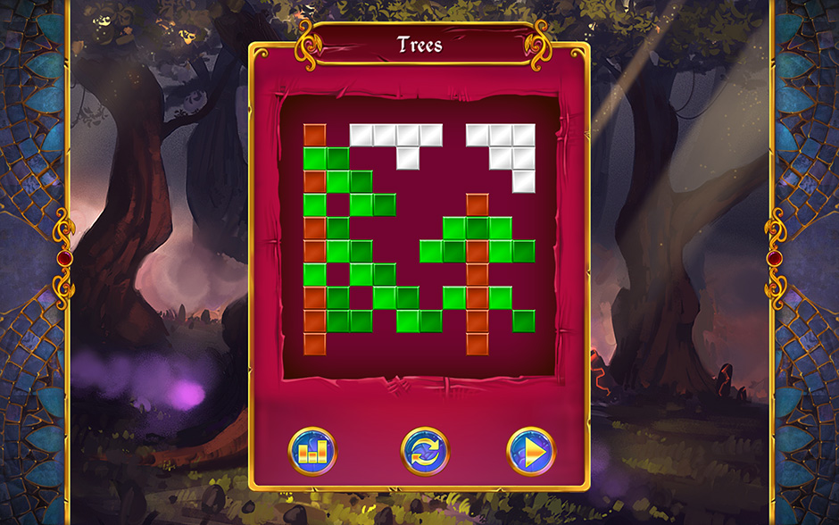 Mystery Mosaics Forest of Relics Puzzle 3