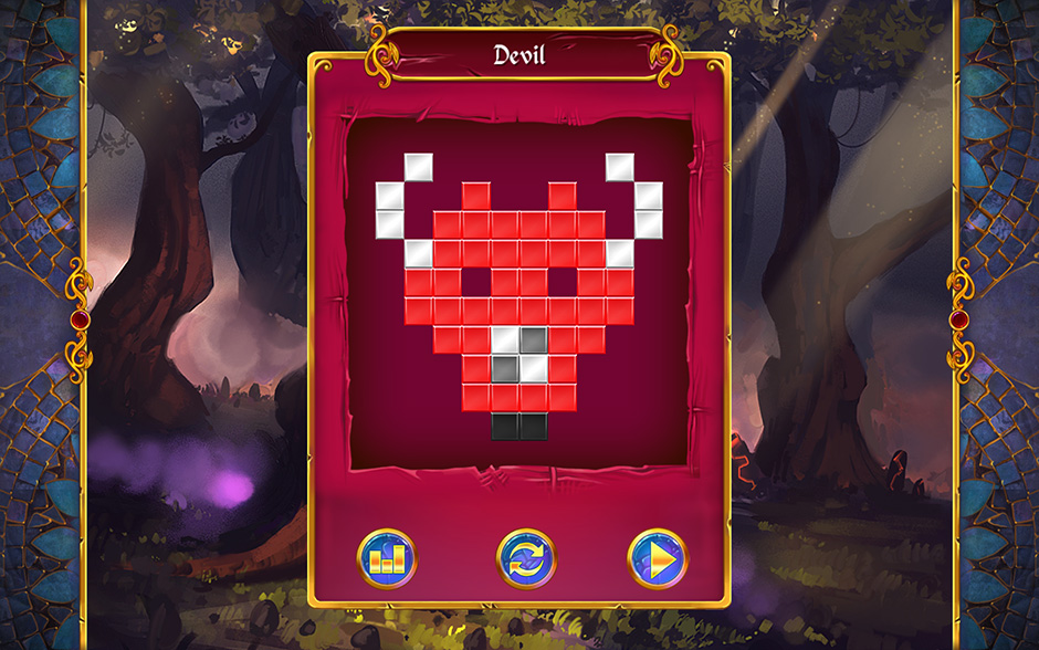 Mystery Mosaics Forest of Relics Puzzle 4
