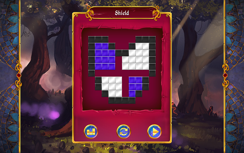 Mystery Mosaics Forest of Relics Puzzle 5