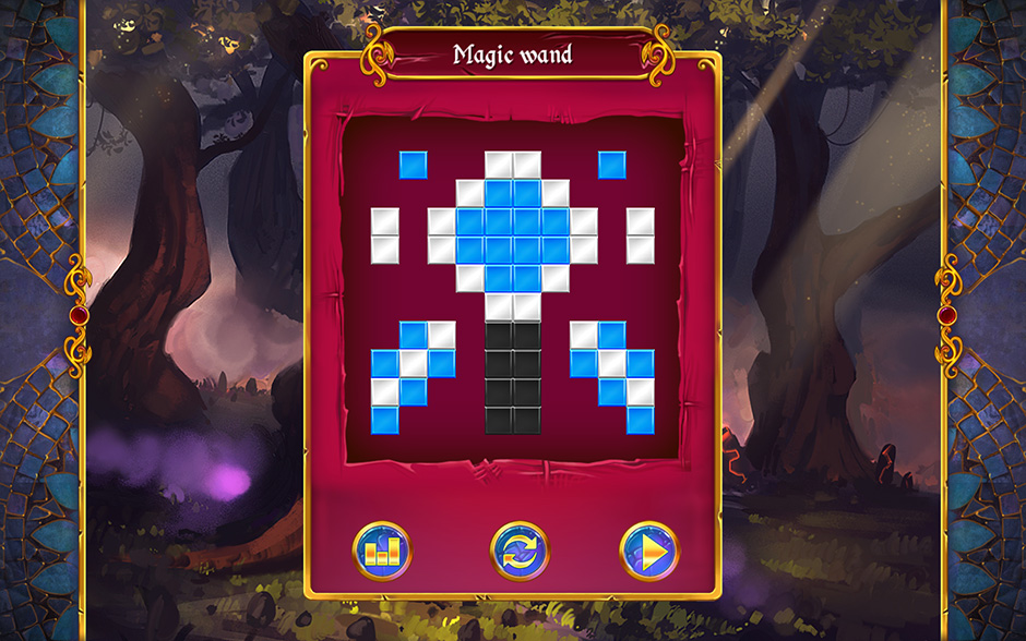 Mystery Mosaics Forest of Relics Puzzle 6