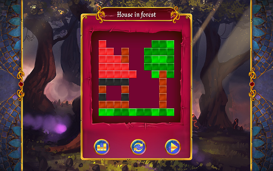 Mystery Mosaics Forest of Relics Puzzle 8