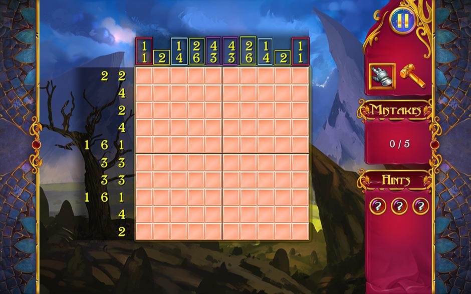 Mystery Mosaics Puzzle Symmetry