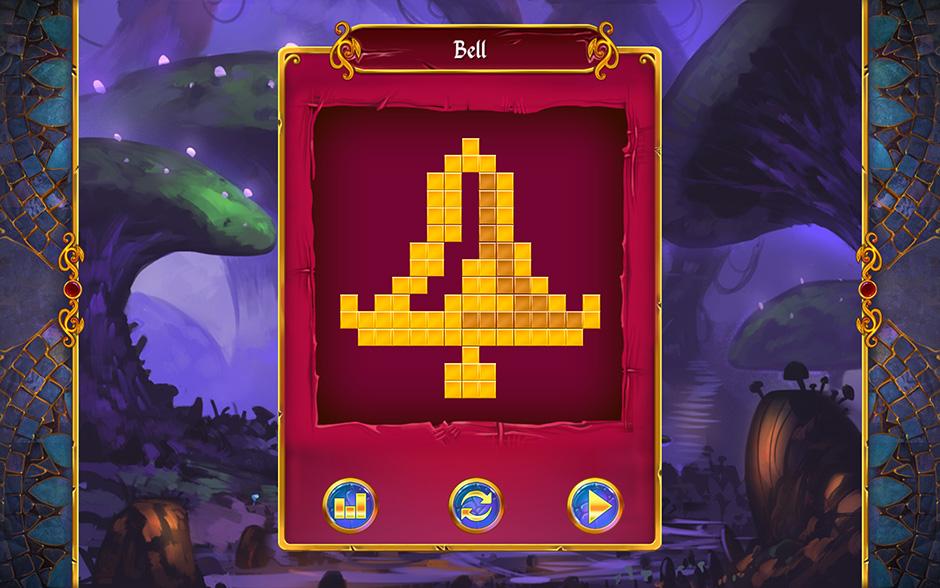 Mystery Mosaics Sporewood Puzzle 2