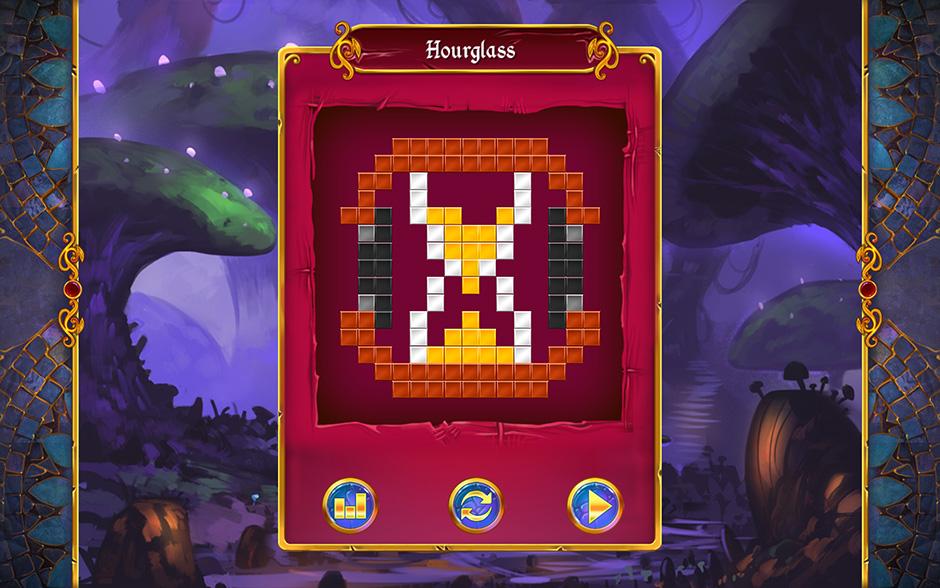 Mystery Mosaics Sporewood Puzzle 4