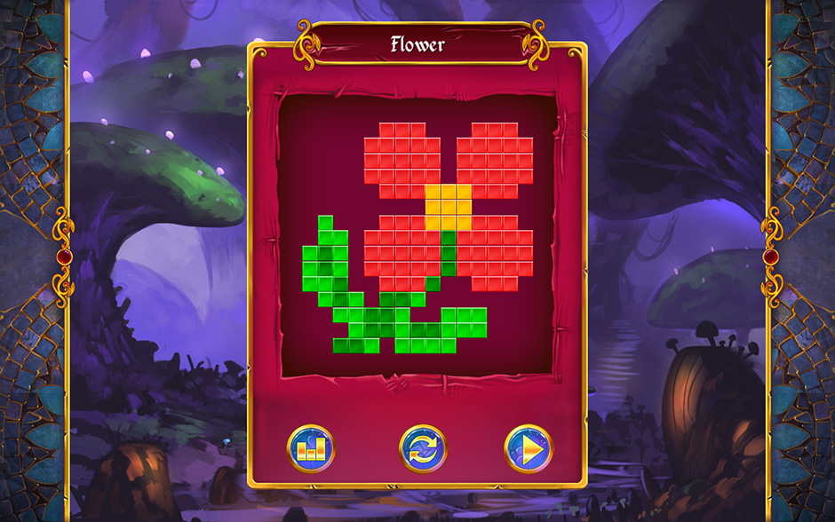 Mystery Mosaics Sporewood Puzzle 6